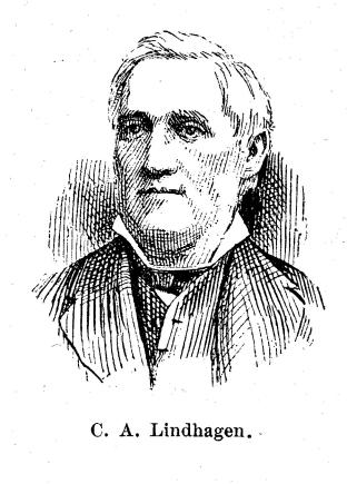 C. A. Lindhagen.