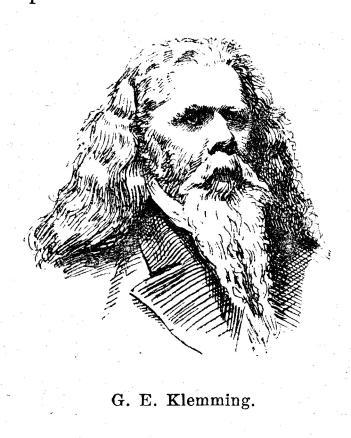 G. E. Klemming.