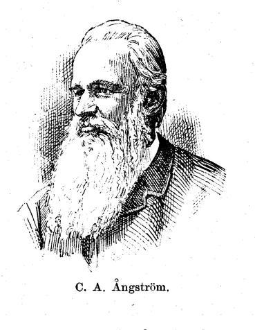 C. A. Ångström.