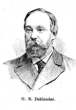 G. R. Dahlander.