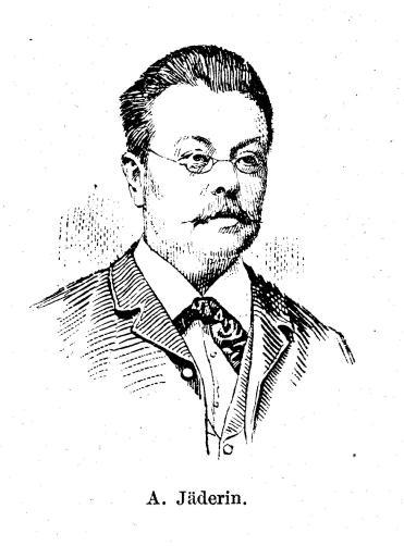 A. Jäderin.