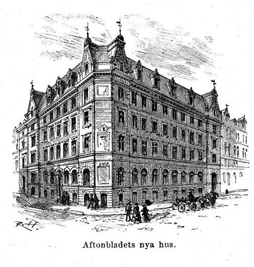 Aftonbladets nya hus.