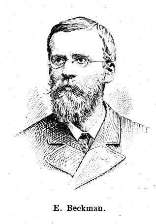 E. Beckman.