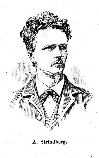 A. Strindberg.