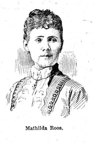 Mathilda Roos.