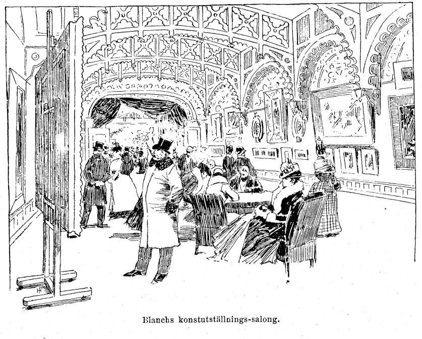 Blanchs konstutställnings-salong.