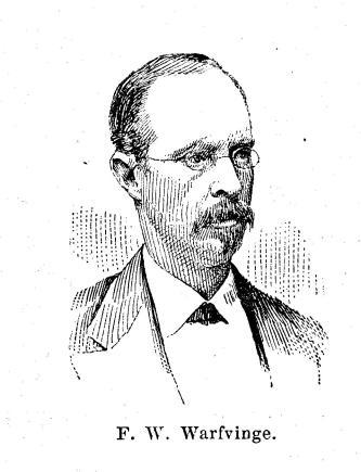 F. W. Warfvinge.