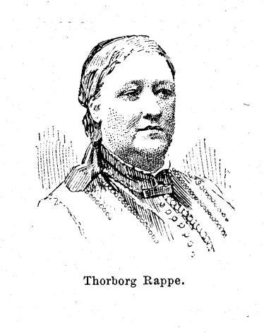 Thorborg Rappe.