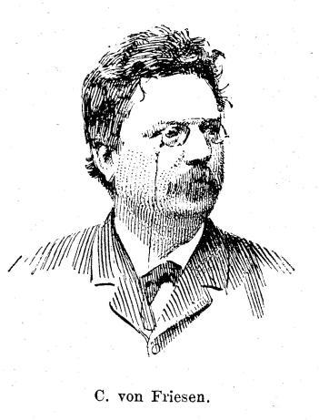 C. von Friesen.