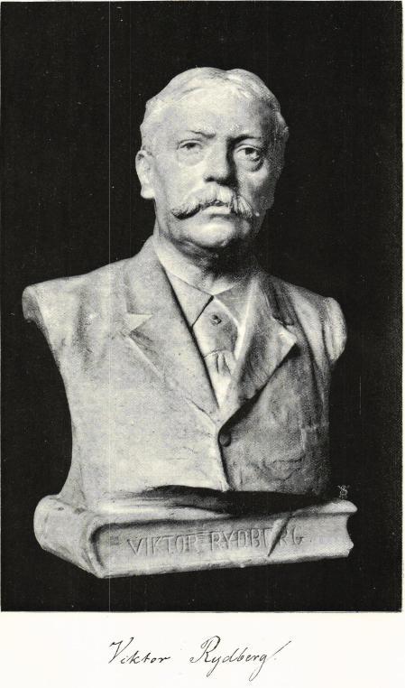<bi<biViktor Rydberg</bi</bi<bByst af PER HASSELBERG.