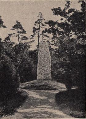 Artur Hazelius' grav på Skansen.