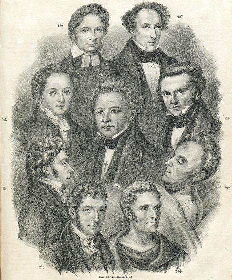 <b266. F. M. Franzen.<b<b267. C. J. L. Almqvist.<b<b268. And. Abr. Grafström.<b<b269. Esias Tegnèr.<b<b270. Karl A. Nicander.<b<b271. S.J. Hedborn.<b<b272. J. A. Wadman.<b<b273. Fr. Cederborg.<b<b274. Pehr Henr. Ling.<b
