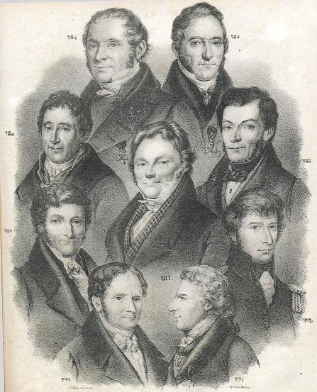 <b284. Elias Fries.<b<b285. Joh. Hedenborg.<b<b286. Leon. Gyllenhaal.<b<b287. Jac. Berzelius.<b<b288. B. F. Fries<b<b289. N. H. Sjöborg.<b<b290. C. J. Schönherr.<b<b291. O1. Swartz<b<b292. J. W. Palmstruch.<b