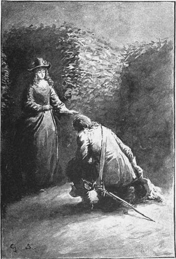 »Öfverallt!» ropade Adolf och föll på knä framför monarkinnan.