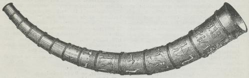 Det i Aaret 1639 fundne Guldhorn.