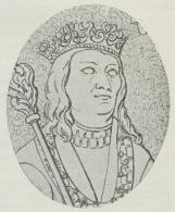 Kong Hans.<b(Fra Ligstenen i Skt Knuds<bKirke i Odense.)