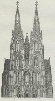 Fig. 1. Façade af Kölner-Dom.
