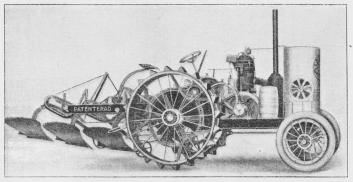 Fig. 3. Svensk Motorplov »Avance«.