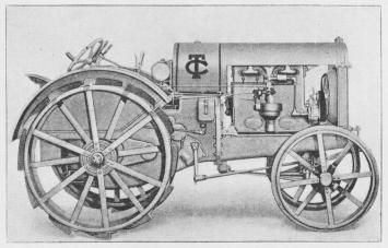 Fig. 4. Amerikansk Motor-Tractor »The Twin City«.