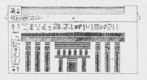 Fig. 3. Granitkiste til Mumien af Khufu-onkh<b(omtrent 3000 f. Kr.).