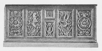 Ungrenæssance. Dansk Kiste. C. 1560.
