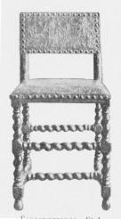 Senrenæssance. Stol. C. 1650.