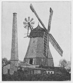 Fig. 2. Moderne hollandsk Mølle.