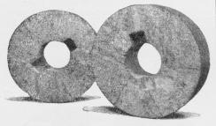 Fig. 2. Møllesten uden Midtstykke.