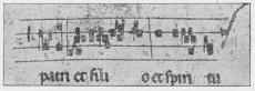 Fig. 4. Af Manuskript fra 14. Aarh.