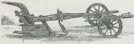 Fig. 3. Gammel dansk Hjulplov.