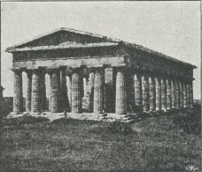 Poseidon's Tempel i Pæstum.