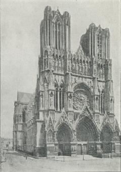 Domkirken i Rheims.