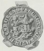 Flensborg Bys Segl (1412).