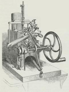 Fig. 4. Bruce's Skriftstøbningsmaskine.