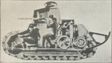 Fig. 6. Italiensk Fiat-Tank.