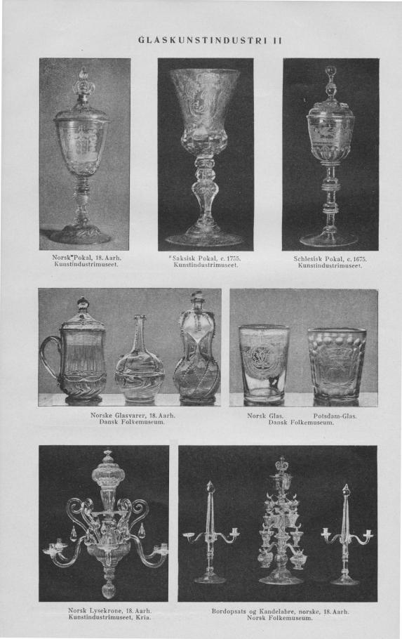 Saksisk Pokal, c. 1755.<bKunstindustrimuseet.