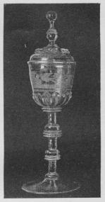 Schlesisk Pokal, c. 1675.<bKunstindustrimuseet.