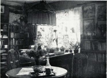 Arbeidsværelset på Bjerkebæk.