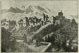 Alhambran linna.