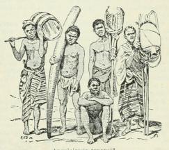 Angolalaisia tyyppejä.