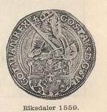 Riksdaler 1559.