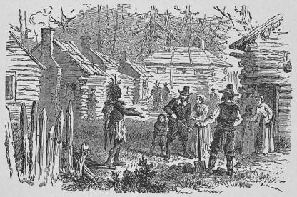 Nybygge under kolonisationstiden.