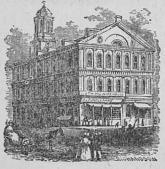 Faneuil Hall i Boston.