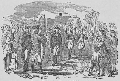 Cornwallis' kapitulation vid Yorktown.