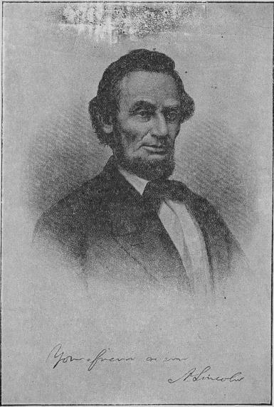 <biAbraham Lincoln.</bi