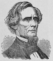 Jefferson Davis. Sydstaternas preesident.