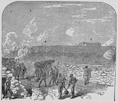 Attacken på Port Sumter.