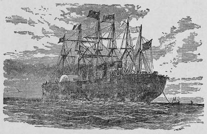 Great Ester, nedläggande oceankabeln.